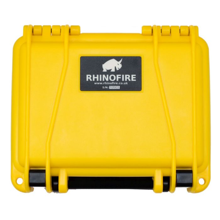 RhinoFire firework sequencer with lid closed.